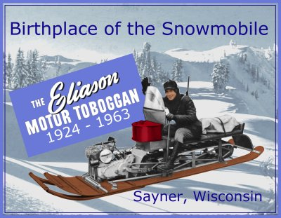 "1940 Model ""A"" Motor Toboggan"